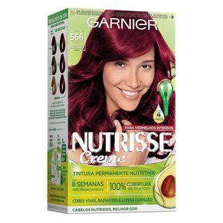 Coloração Nutrisse Garnier 566 Pimenta Dedo de Moça Vermelho