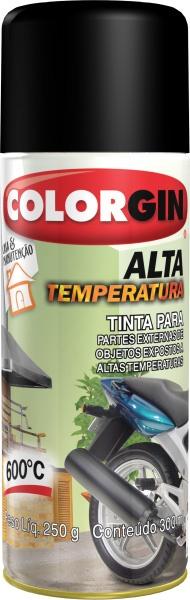 Colorgin Alta Temper. Preto Fosco