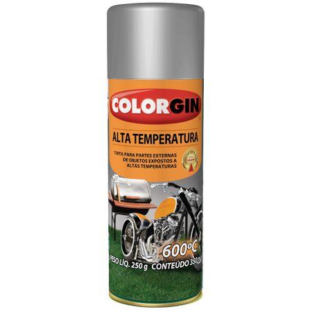Colorgin Alta Temperatura Spray 300 Ml Alumínio