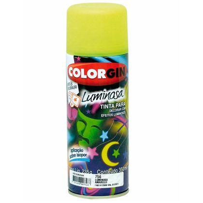 Tudo sobre 'Colorgin Luminosa Spray 350ml - Fosco Amarelo'