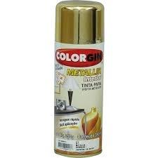 Tudo sobre 'Colorgin Metallik 350ml Dourado'