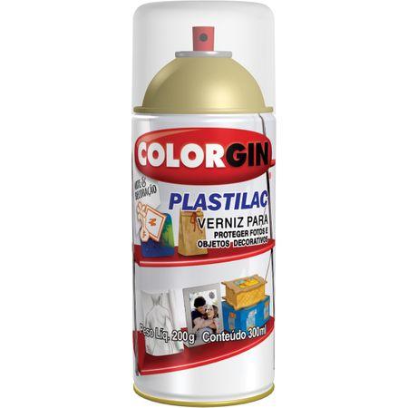 Colorgin Verniz Plastilac Brilho Spray 300 Ml Incolor