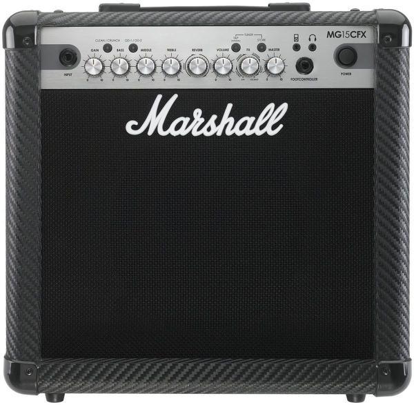 Combo para Guitarra 15W MG15CFX-B MARSHALL