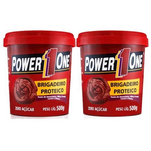 Tudo sobre 'Combo Pasta de Amendoim Brigadeiro Proteico - Power One'