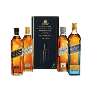 COMBO WHISKY JOHNNIE WALKER The Collection 200ml - 4 Unidades