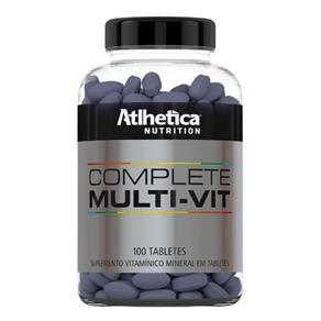 Complete Multi-Vit Atlhetica Nutrition - Natural - 100 Tabletes
