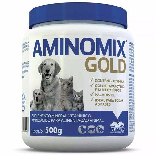 Complexo Mineral Aminomix Gold 500g Vetnil