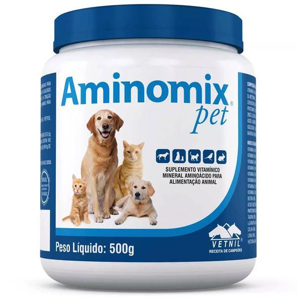 Complexo Mineral Aminomix Pet 500g Vetnil