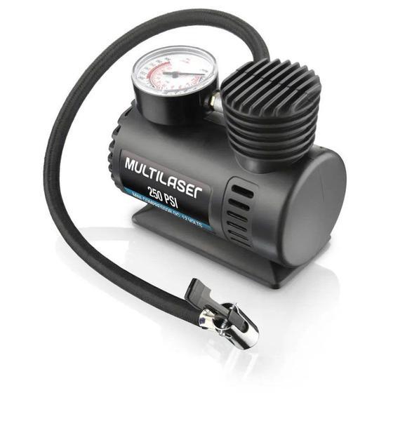 Compressor de Ar Multilaser 12V 250PSI - AU601