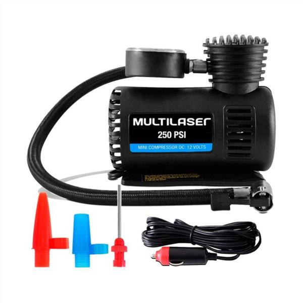 Compressor de Ar 12V 250Psi Au601 - Multilaser