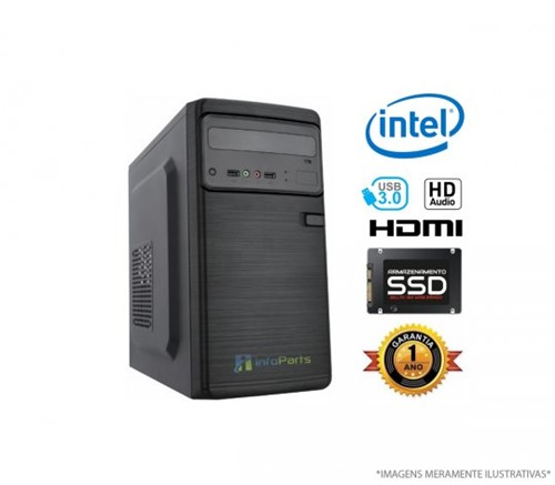 Tudo sobre 'Microcomputador Intel Core I5-8400 - 4GB SSD 120GB   InfoParts'