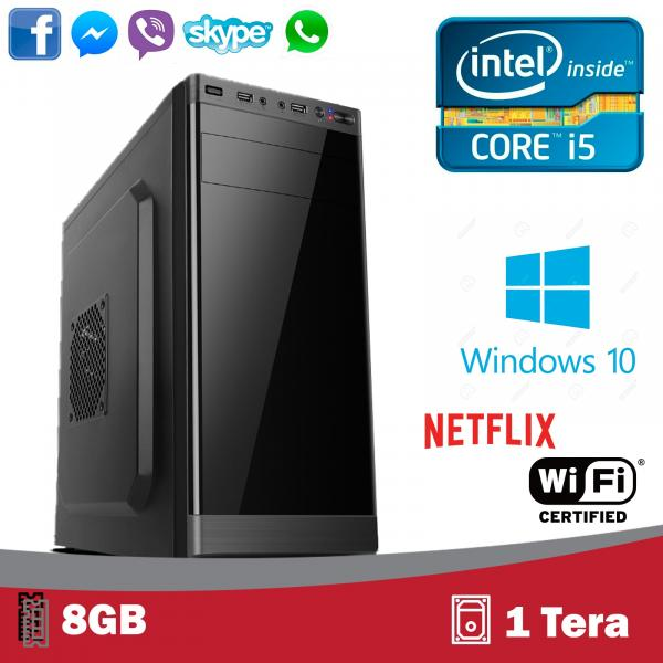 Computador 5Tech Intel Core I5 3.10ghz 8gb HD 1 Tera Hdmi Fullhd Windows 10 Profissional