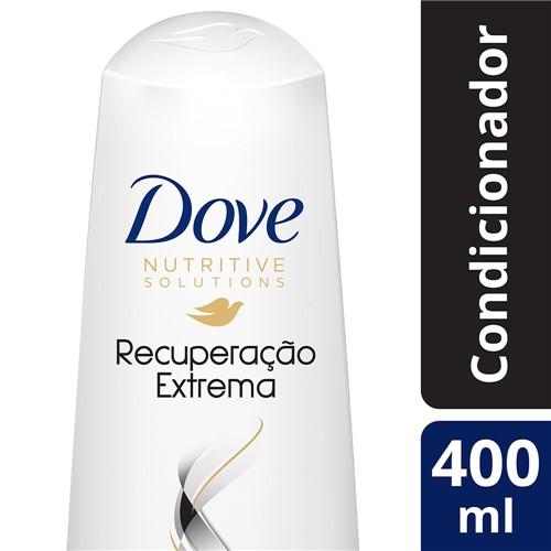 Condicionador Dove Recuperação Extrema 400ml