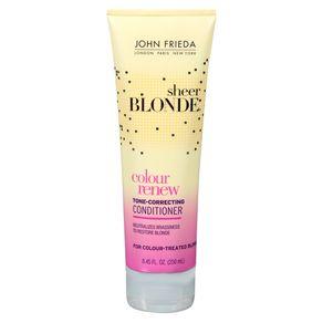 Condicionador John Frieda Sheer Blonde Color Renew Tone Correcting 250ml