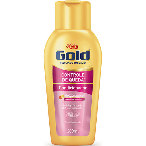 Condicionador Niely Gold Ceramidas 200 Ml