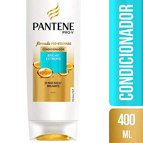 Condicionador Pantene Brilho Extremo, 400 Ml