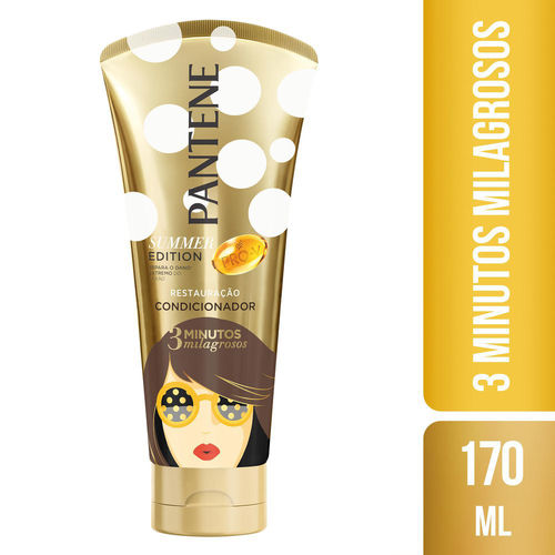 Condicionador Pantene 3 Minutos Milagrosos Summer Edition 170ml