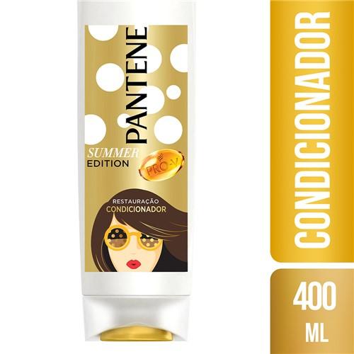 Condicionador Pantene Summer Edition Restauração com 400ml
