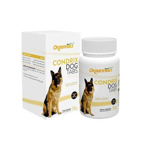 Tudo sobre 'Condrix Dog Tabs Organnact 72 Gr'