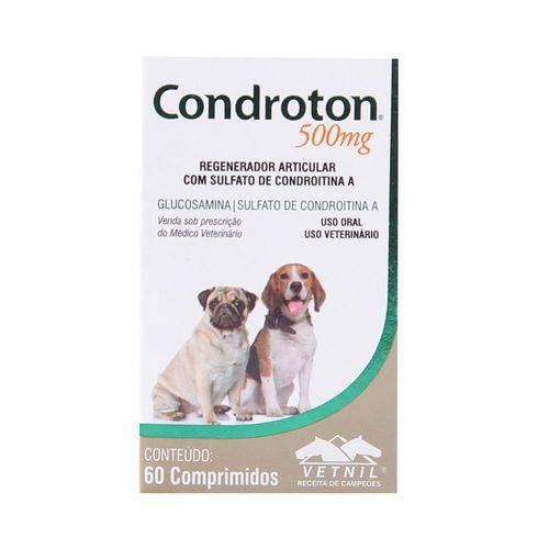 Tudo sobre 'Condroton 500 60 Cps'
