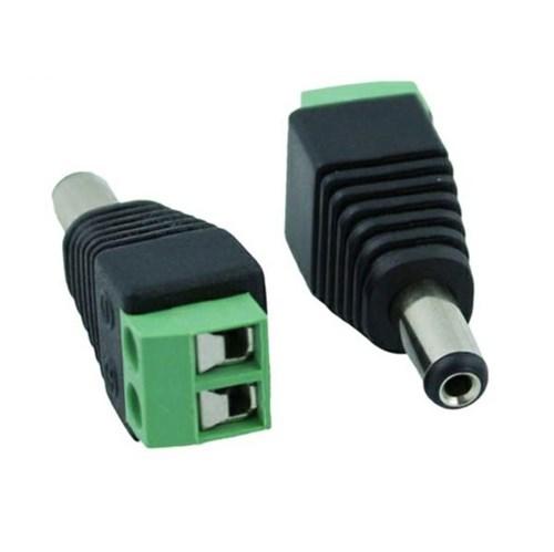 Conector P4 Macho com Borne - Plug Adaptador
