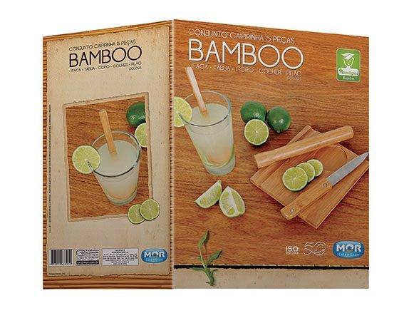 Conjunto Caipirinha 5 Peças Bamboo - Mor