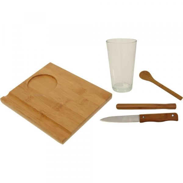 Conjunto Caipirinha Bambu 5 Peças - Mor