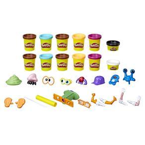 Conjunto Caquinhas Divertidas - Play Doh - Hasbro