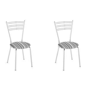 Conjunto com 2 Cadeiras Furlan - Branco