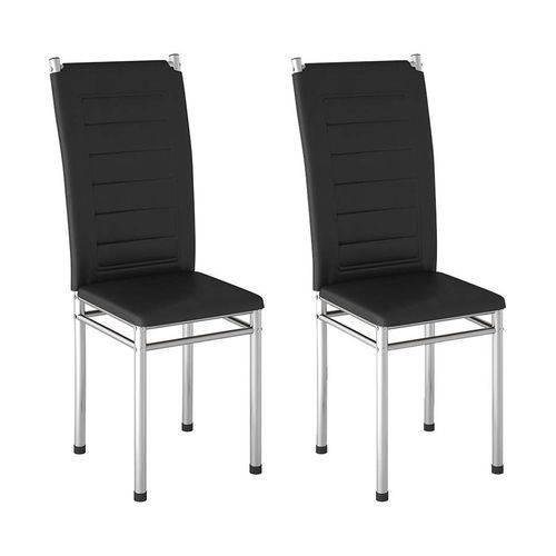 Tudo sobre 'Conjunto de 2 Cadeiras Urban Preta'