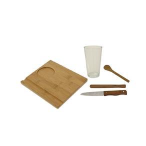 Conjunto de Caipirinha 5 Peças Bamboo Mor