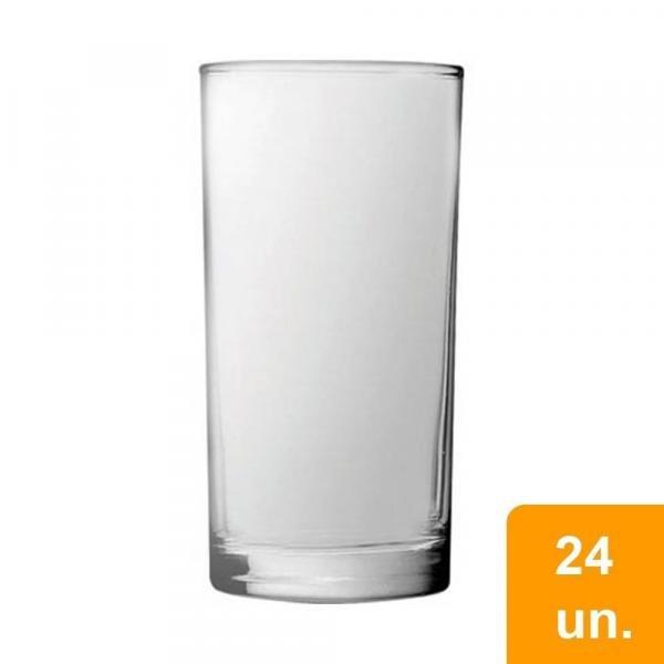 Conjunto de Copos 300ml Cylinder Long Drink 24 Peças - Nadir