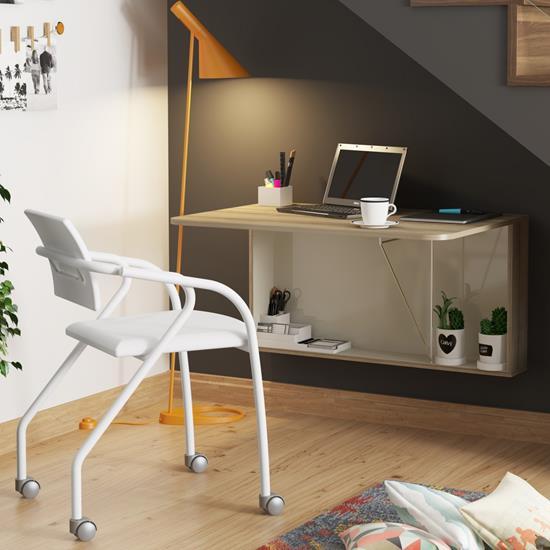 Conjunto de Mesa 1540 e 1 Cadeira 1713 - Carraro 15401713.1 154017131