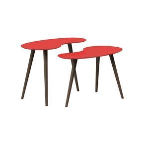 Conjunto de Mesa Feijão - Pinoquio - Vermelho