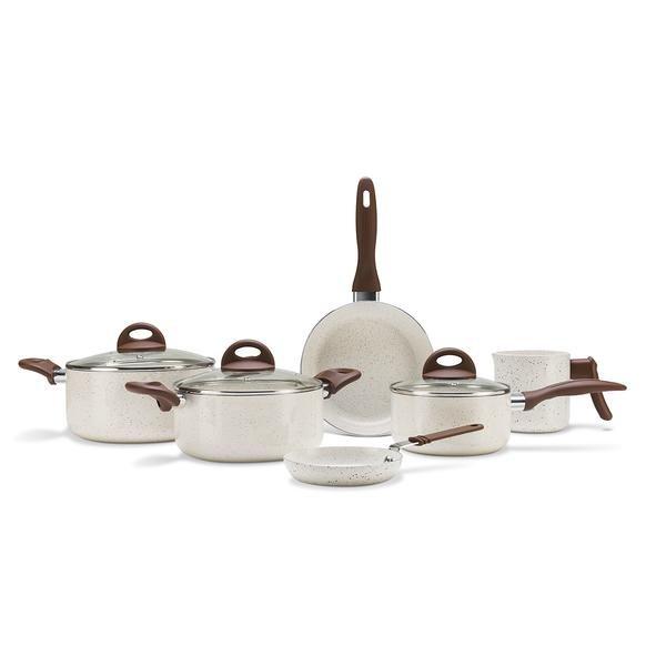 Conjunto de Panelas 6 Peças Ceramic Life Smart Plus Vanilla - Brinox