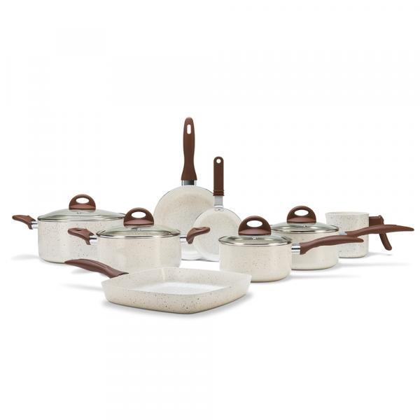 Conjunto de Panelas 8 Peças Ceramic Life Smart Plus - Brinox