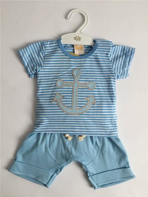 Conjunto Masculino Azul Aya Baby (P)