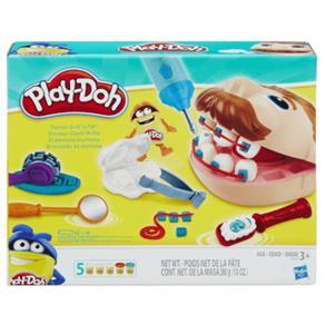 Conjunto Massa de Modelar Play-Doh Dentista Hasbro - B5520