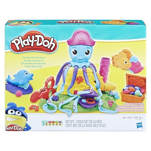 Conjunto Massinha Play-Doh Polvo Divertido Hasbro