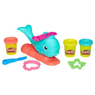Conjunto Play-doh Baleia Divertida Hasbro Multicolorido