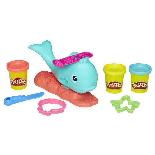 Conjunto Play-doh - Baleia Divertida - Hasbro