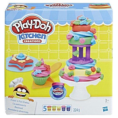 Conjunto Play-Doh Bolos Divertidos B9741 - Hasbro