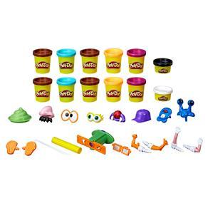 Conjunto Play-Doh Hasbro Caquinhas Divertidas