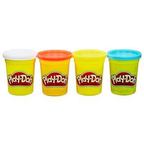 Conjunto Play-Doh Hasbro com 4 Cores