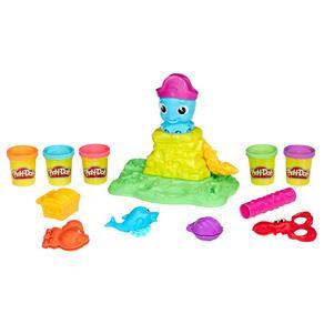 Conjunto Play-Doh Hasbro Polvo Divertido