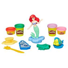 Conjunto Play-Doh Hasbro Princesas Disney - Ariel