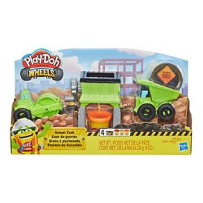 Conjunto Play-Doh Hasbro Terreno de Cascalho
