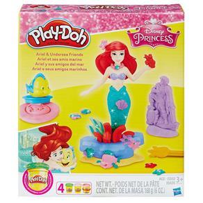Conjunto Play Doh Princesa Ariel - Hasbro