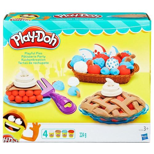 Conjunto Play Doh Tortas Divertidas - Hasbro