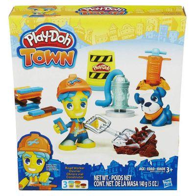 Conjunto Play-doh Town Construtor Hasbro